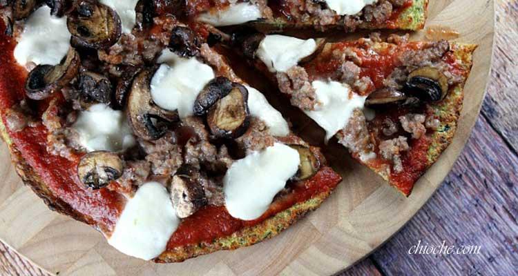طرز تهیه پیتزا با استفاده از کدو