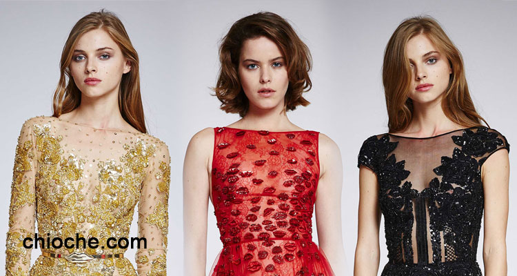 لباس شب مدل بلند –  ۲۰۱۶