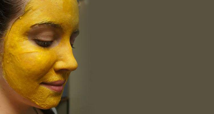 ماسک زرد چوبه برای پوست چرب