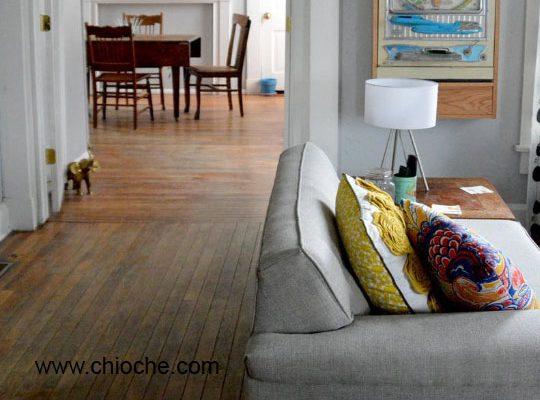 چگونگی رفع فرورفتگی در کف و مبلمان چوبی