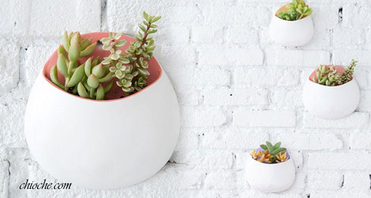 روش ساخت گلدان دیواری تزیینی