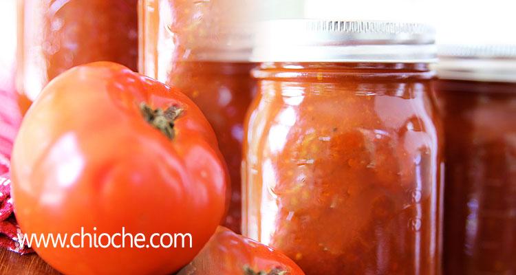 دستورالعمل تهیه سس گوجه فرنگی خانگی